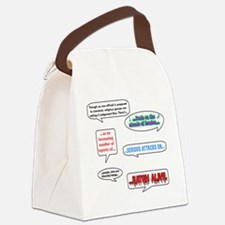 shaun1.png Canvas Lunch Bag