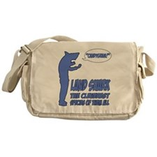 landshark1.png Messenger Bag