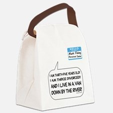 snl10a.png Canvas Lunch Bag