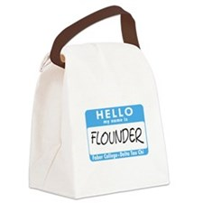 animal_house15.png Canvas Lunch Bag
