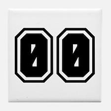 SPORTS JERSEY 00 Tile Coaster