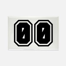 SPORTS JERSEY 00 Rectangle Magnet