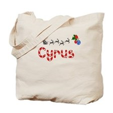 Cyrus, Christmas Tote Bag