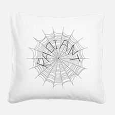 radiant3a.png Square Canvas Pillow