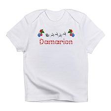 Damarion, Christmas Infant T-Shirt