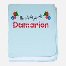 Damarion, Christmas baby blanket