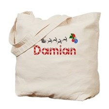 Damian, Christmas Tote Bag