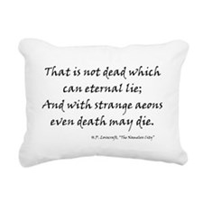 lovecraft6a.png Rectangular Canvas Pillow