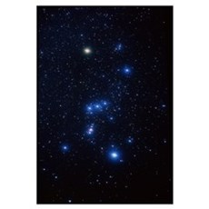 Orion constellation Framed Print