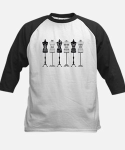 Vintage fashion mannequins silhouettes Tee
