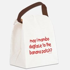 mambo1.png Canvas Lunch Bag