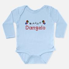 Dangelo, Christmas Long Sleeve Infant Bodysuit
