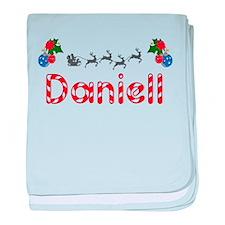 Daniell, Christmas baby blanket