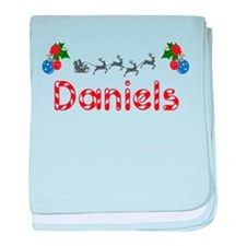 Daniels, Christmas baby blanket