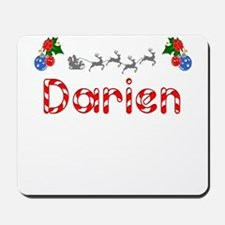 Darien, Christmas Mousepad