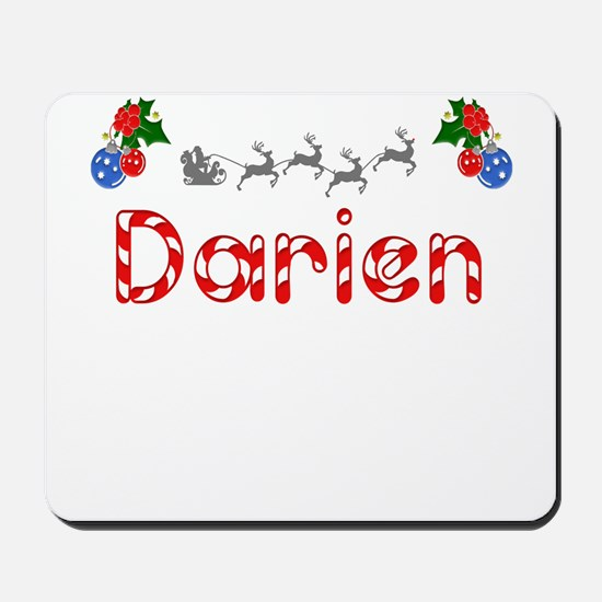Darien, Christmas Mousepad