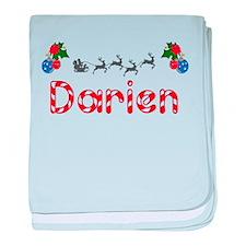 Darien, Christmas baby blanket