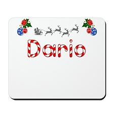 Dario, Christmas Mousepad