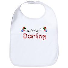Darling, Christmas Bib