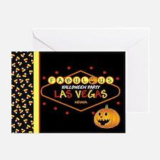 Las Vegas Fabulous Halloween Party Cards Pk of 20