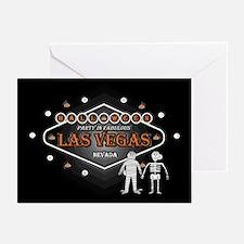 Las Vegas Halloween Party Cards (Pk of 20)