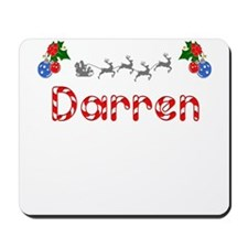 Darren, Christmas Mousepad