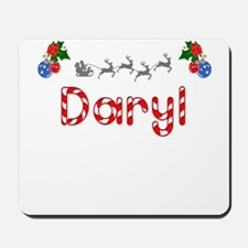 Daryl, Christmas Mousepad