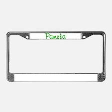 Pamela Glitter Gel License Plate Frame