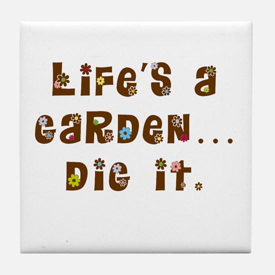 Dig it Tile Coaster