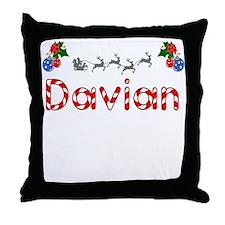 Davian, Christmas Throw Pillow