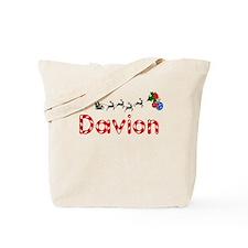 Davion, Christmas Tote Bag