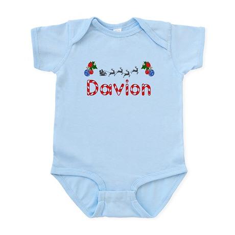 Davion, Christmas Infant Bodysuit