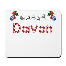 Davon, Christmas Mousepad