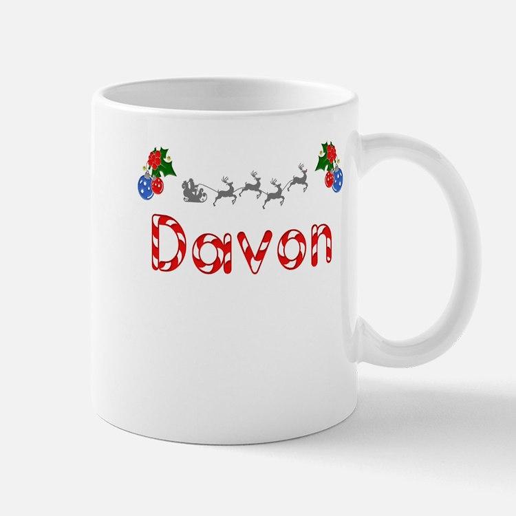 Davon, Christmas Mug