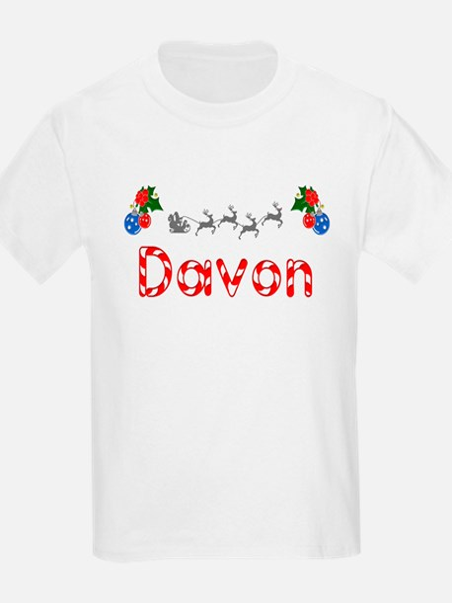 Davon, Christmas T-Shirt