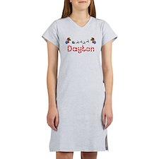 Dayton, Christmas Women's Nightshirt