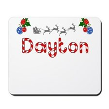 Dayton, Christmas Mousepad