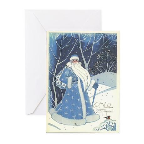 S Novim godom 3 Greeting Cards (Pk of 10)