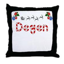 Degen, Christmas Throw Pillow