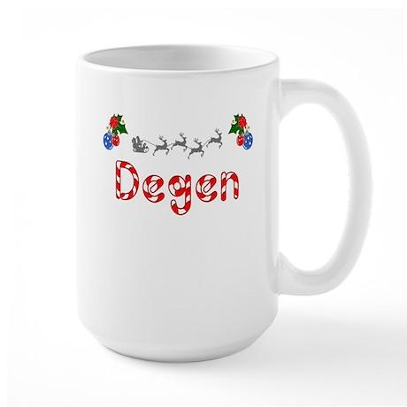 Degen, Christmas Large Mug