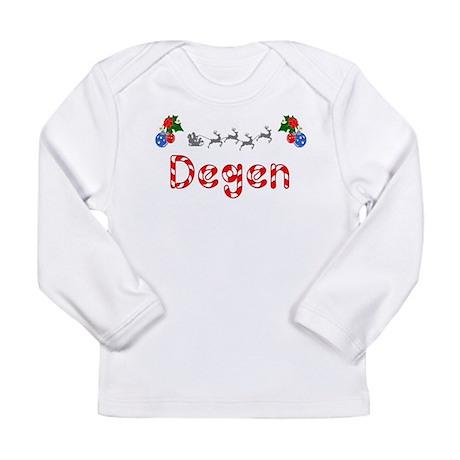 Degen, Christmas Long Sleeve Infant T-Shirt