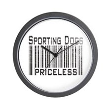 Sporting Dogs Wall Clock