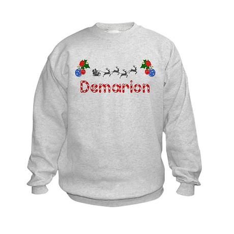Demarion, Christmas Kids Sweatshirt