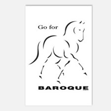 Go for Baroque Postcards (Package of 8)