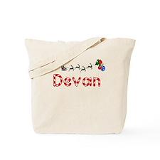 Devan, Christmas Tote Bag