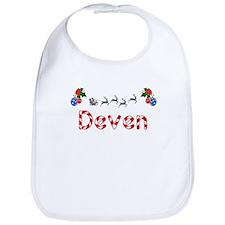 Deven, Christmas Bib