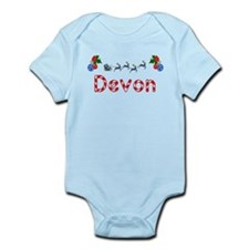 Devon, Christmas Infant Bodysuit