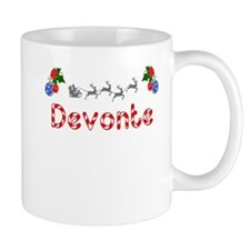 Devonte, Christmas Small Mug