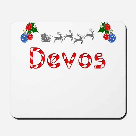 Devos, Christmas Mousepad