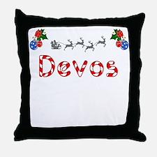 Devos, Christmas Throw Pillow